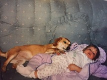 Brandy and I when we were both a little bit older.