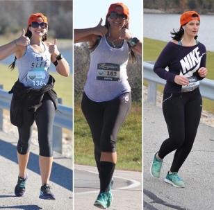 Mile 11 of the Longview half marathon; 2015, 2016, 2017.