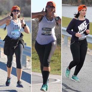 Mile 11 of the Longview half marathon; 2015, 2016, 2017.
